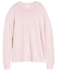 "Treasure & Bond Sweaters - Treasure & Bond ""Something Navy"" Crewneck Sweater"